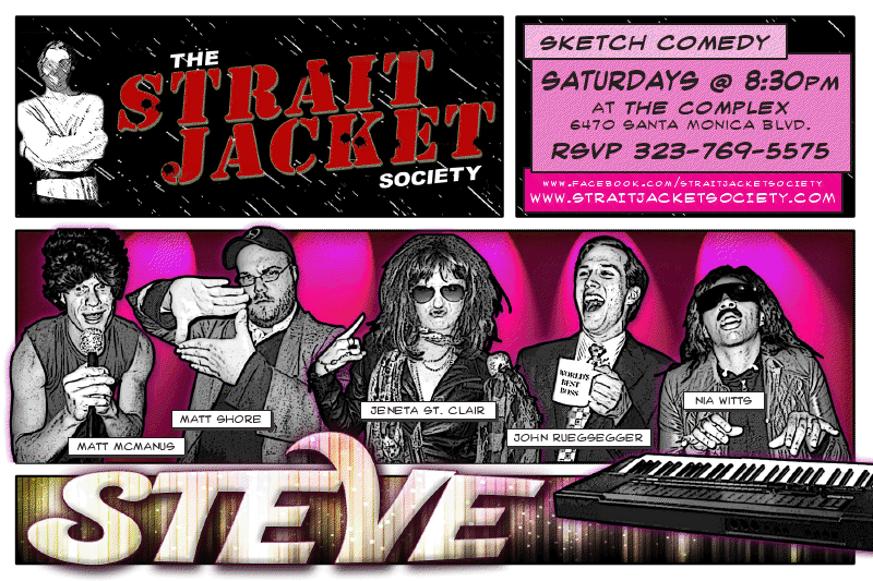 Strait Jacket Society: Presents STEVE – Matt Shore