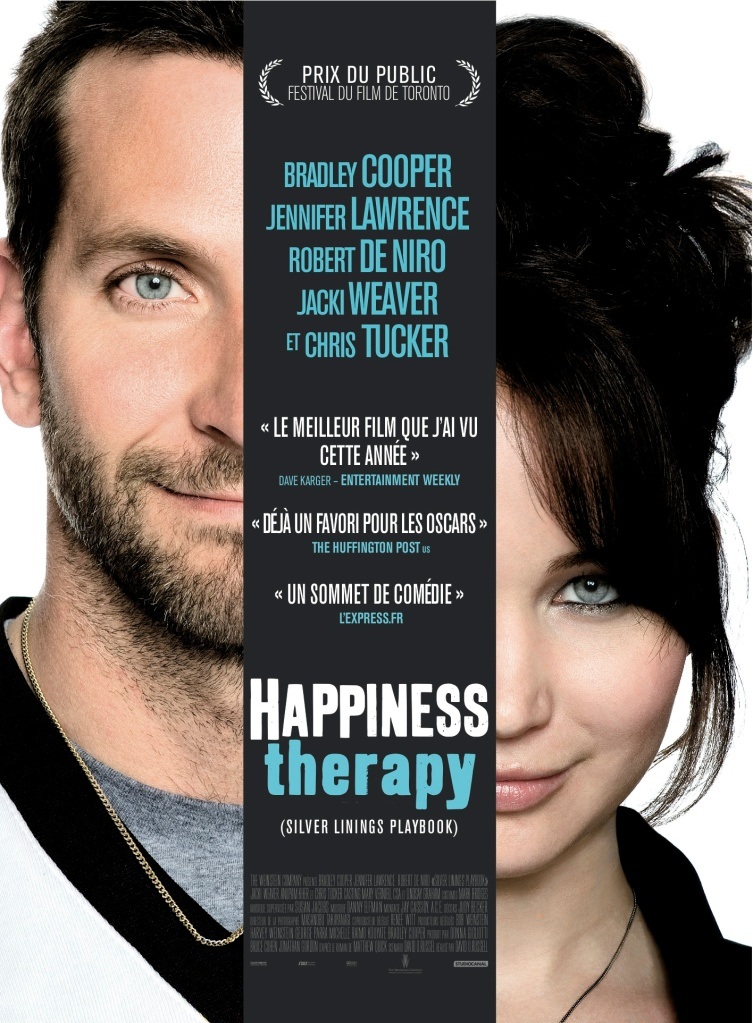 WTF is Happiness Therapy? Also, I wish American movie titles were more honest like this too.